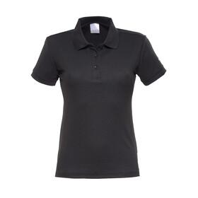 Craft Classic Polo Pique Fietsshirt korte mouwen Dames zwart